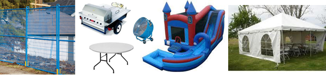 Party rentals in Airdrie AB